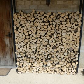 logs and firewood